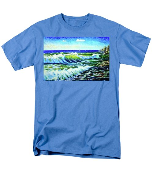 Waves Men's T-Shirt  (Regular Fit) by Viktor Lazarev