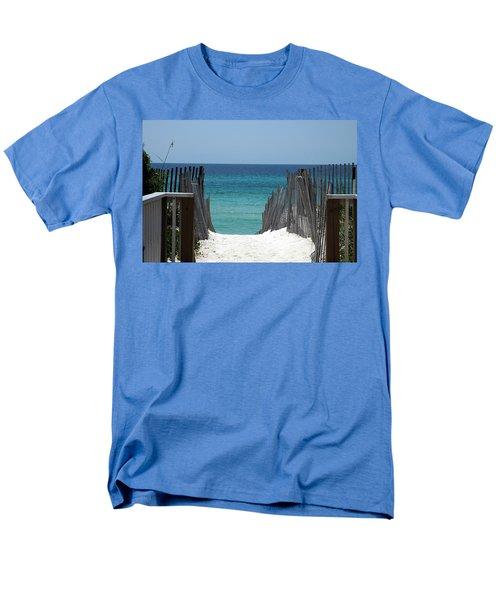 Way To The Beach Men's T-Shirt  (Regular Fit) by Susanne Van Hulst
