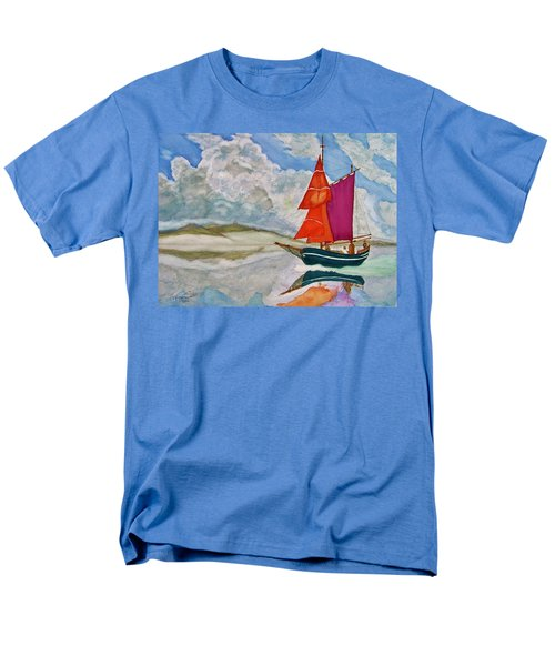 We Sailed Upon A Sea Of Glass Men's T-Shirt  (Regular Fit) by Rand Swift