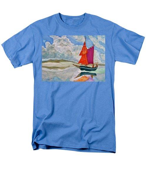 We Sailed Upon A Sea Of Glass Men's T-Shirt  (Regular Fit)