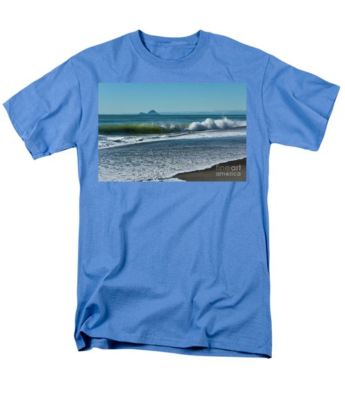Men's T-Shirt  (Regular Fit) featuring the photograph Whale Island by Werner Padarin