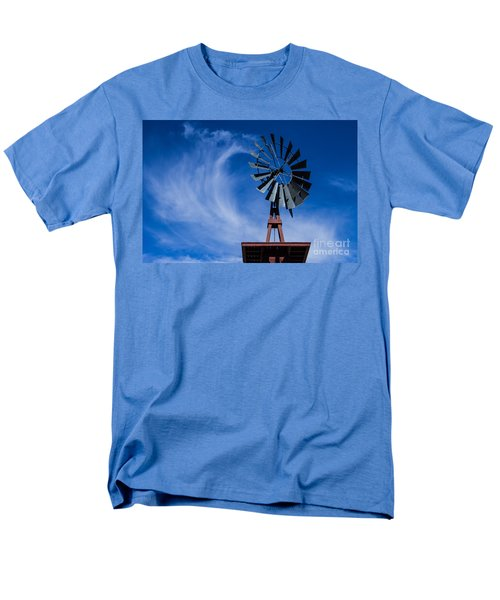 Whipping Up The Clouds Men's T-Shirt  (Regular Fit) by Steven Parker