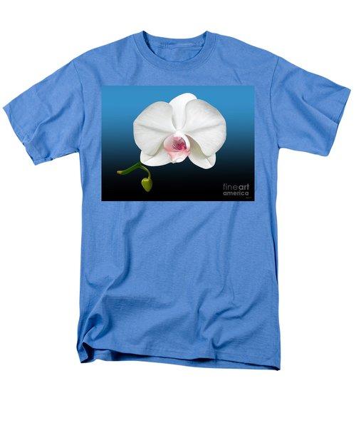White Orchid Men's T-Shirt  (Regular Fit) by Rand Herron