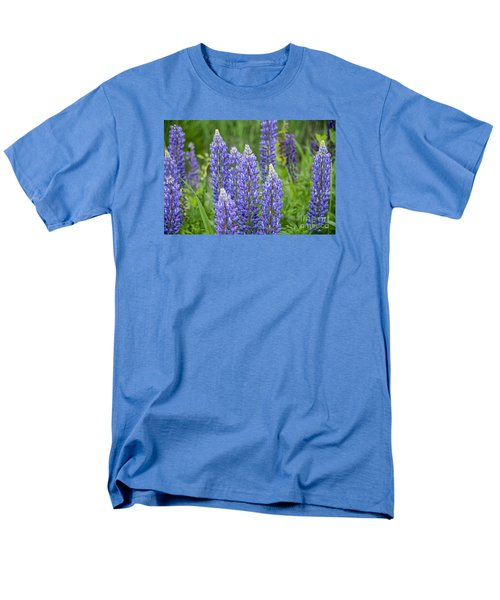 Men's T-Shirt  (Regular Fit) featuring the photograph Wild Lupine by Alana Ranney