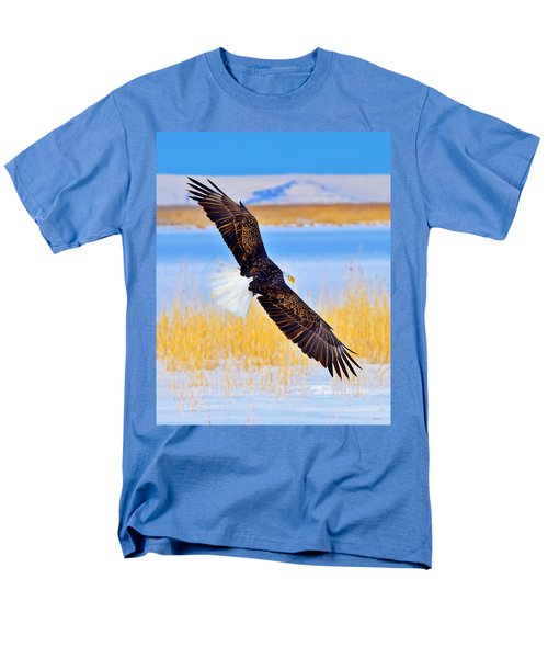 Men's T-Shirt  (Regular Fit) featuring the photograph Wingspan by Greg Norrell