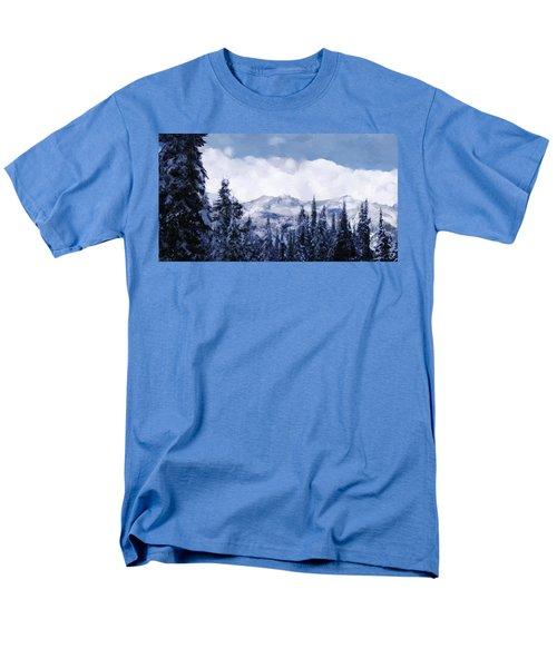 Winter At Revelstoke Men's T-Shirt  (Regular Fit) by Debra Baldwin