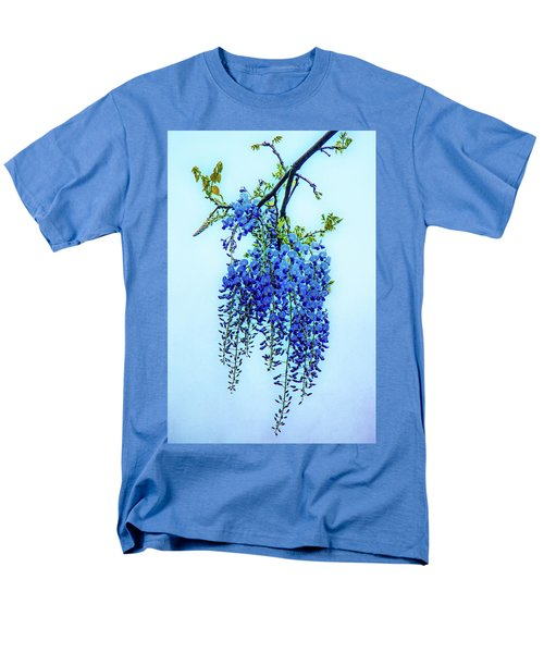 Men's T-Shirt  (Regular Fit) featuring the photograph Wisteria by Chris Lord