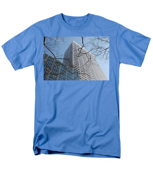 Men's T-Shirt  (Regular Fit) featuring the photograph Wood And Glass by Rob Hans