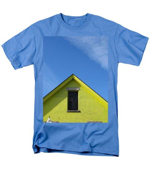 Yellow Peak Men's T-Shirt  (Regular Fit)