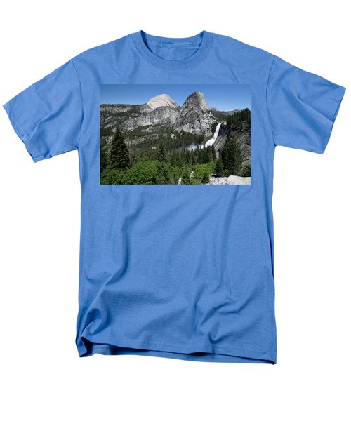 Yosemite View 30 Men's T-Shirt  (Regular Fit) by Ryan Weddle