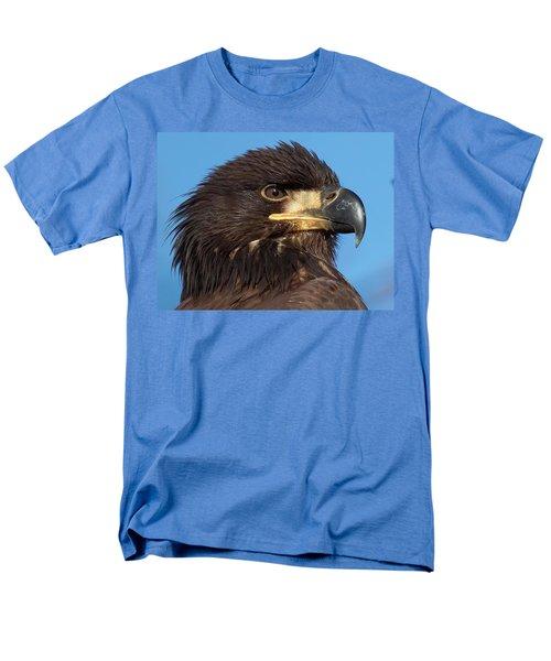 Young Eagle Head Men's T-Shirt  (Regular Fit) by Sheldon Bilsker