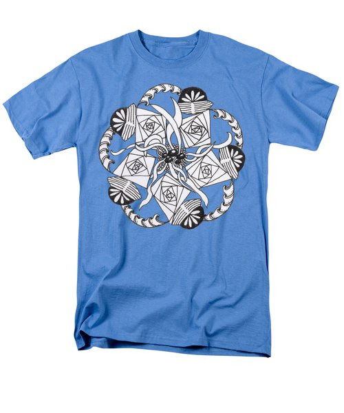 Zendala Seaweed Men's T-Shirt  (Regular Fit) by Lori Kingston