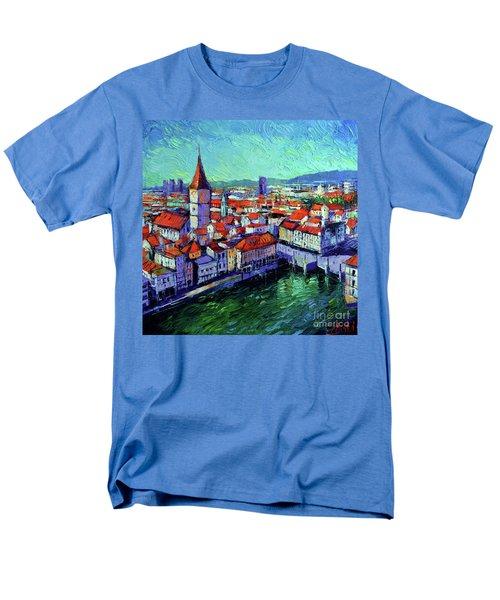 Zurich View Men's T-Shirt  (Regular Fit)