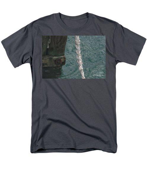 Dock Rope And Wood Men's T-Shirt  (Regular Fit)