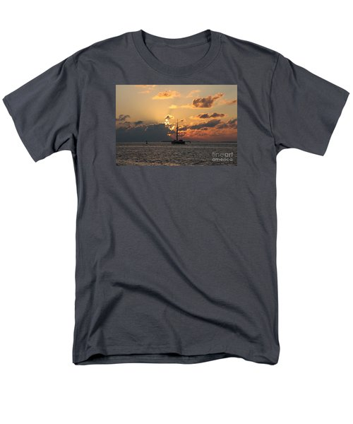 Marelous Key West Sunset Men's T-Shirt  (Regular Fit) by Christiane Schulze Art And Photography