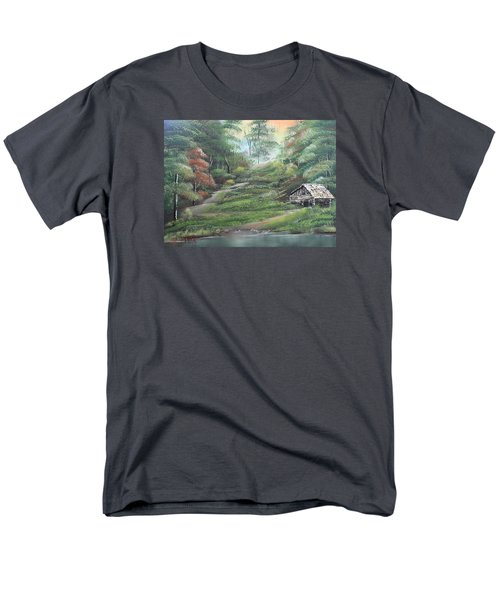 Light Down The River Men's T-Shirt  (Regular Fit)