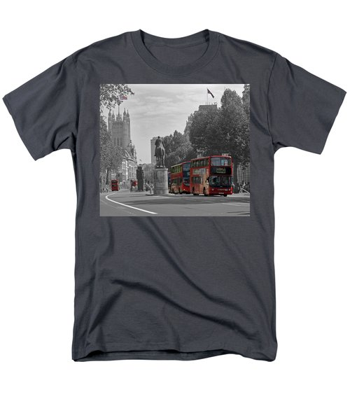 Routemaster London Buses Men's T-Shirt  (Regular Fit) by Tony Murtagh
