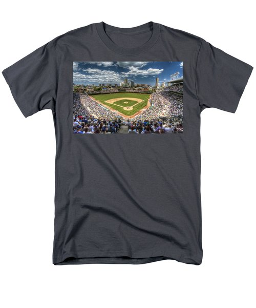 0234 Wrigley Field Men's T-Shirt  (Regular Fit) by Steve Sturgill