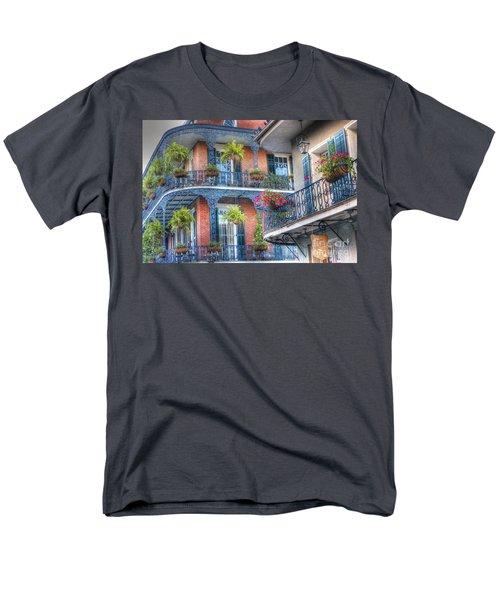 0255 Balconies - New Orleans Men's T-Shirt  (Regular Fit) by Steve Sturgill