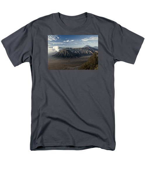 Bromo Mountain Men's T-Shirt  (Regular Fit) by Miguel Winterpacht