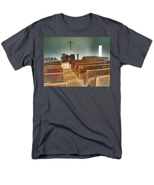 Church Men's T-Shirt  (Regular Fit) by Janice Spivey