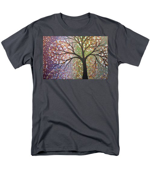 Men's T-Shirt  (Regular Fit) featuring the painting Constellations by Amy Giacomelli