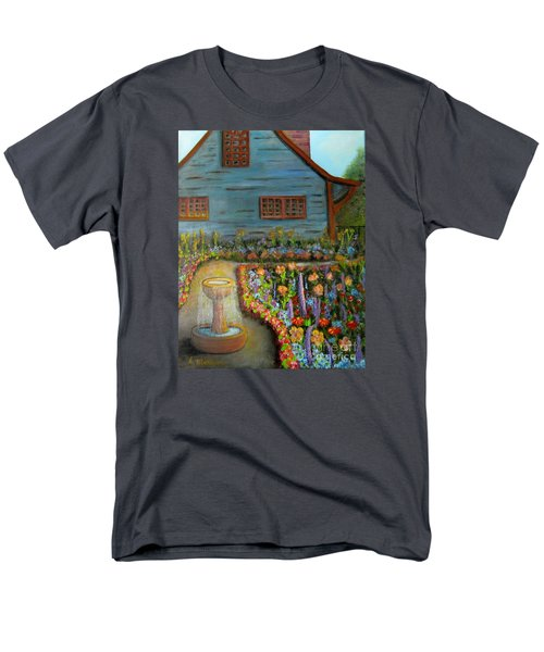 Dream Garden Men's T-Shirt  (Regular Fit) by Laurie Morgan