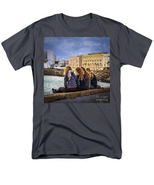 Foreign Students Cadiz Spain Men's T-Shirt  (Regular Fit) by Pablo Avanzini