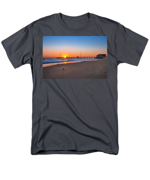 Jennettes Pier Men's T-Shirt  (Regular Fit) by Mary Almond