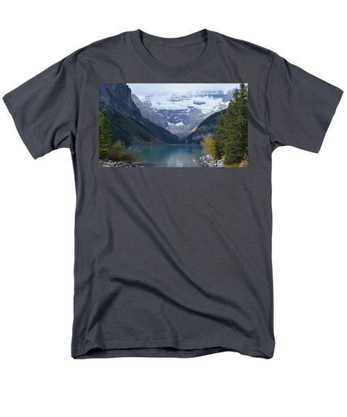 Lake Louise In Fall Men's T-Shirt  (Regular Fit) by Cheryl Miller