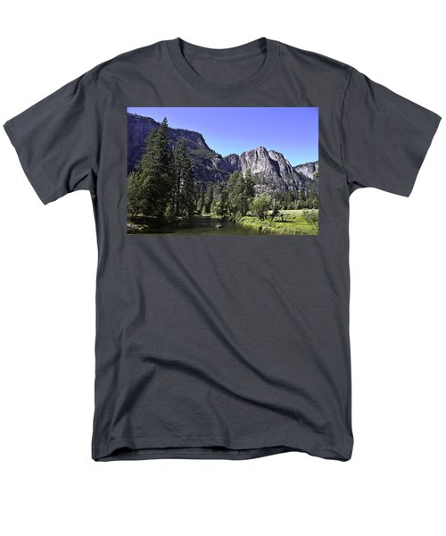 1 Lone Rafter Men's T-Shirt  (Regular Fit) by Brian Williamson