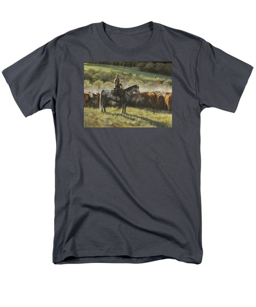 Morning In The Highwoods Men's T-Shirt  (Regular Fit) by Kim Lockman
