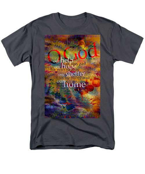 O God Our Help Men's T-Shirt  (Regular Fit) by Chuck Mountain