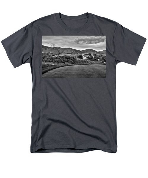 Men's T-Shirt  (Regular Fit) featuring the photograph Ravenna Golf Course by Ron White