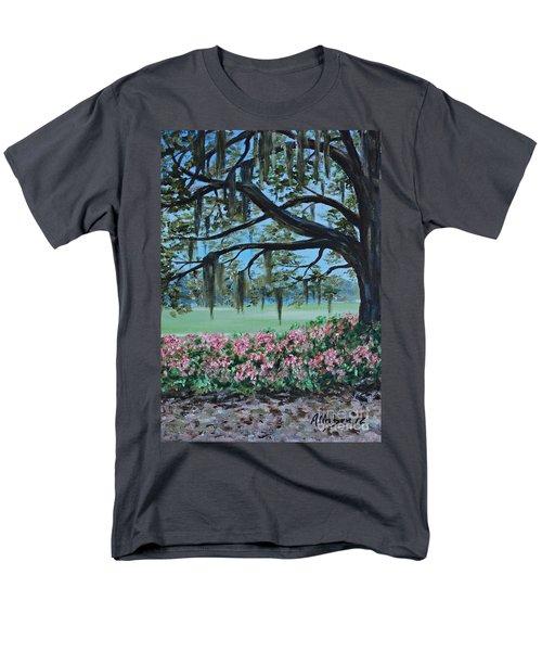 Savannah Spring Men's T-Shirt  (Regular Fit) by Stanton Allaben