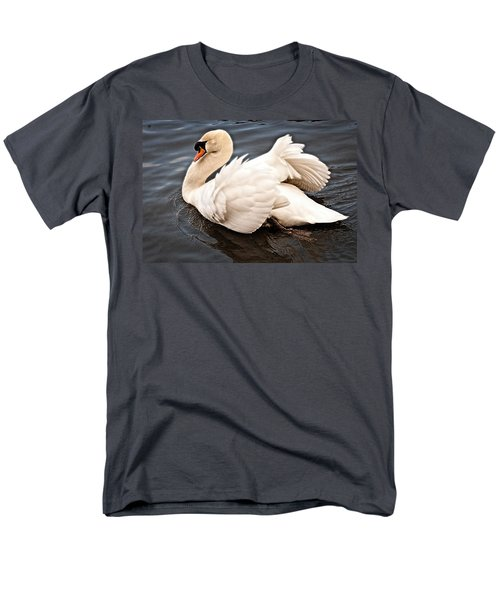 Men's T-Shirt  (Regular Fit) featuring the photograph Swan One by Elf Evans