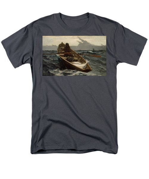 Men's T-Shirt  (Regular Fit) featuring the photograph The Fog Warning by Winslow Homer