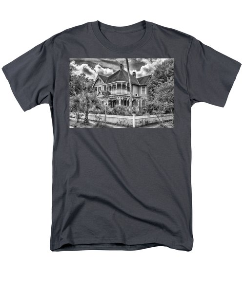 The Gingerbread House Men's T-Shirt  (Regular Fit) by Howard Salmon
