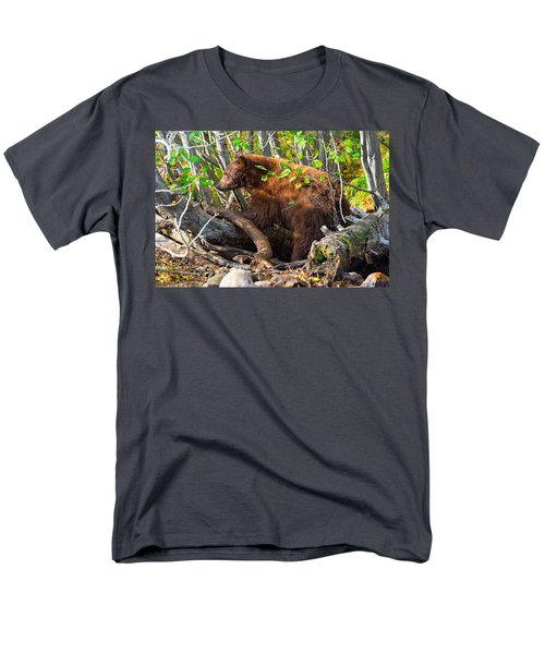 Where The Wild Things Are Men's T-Shirt  (Regular Fit) by Scott Warner