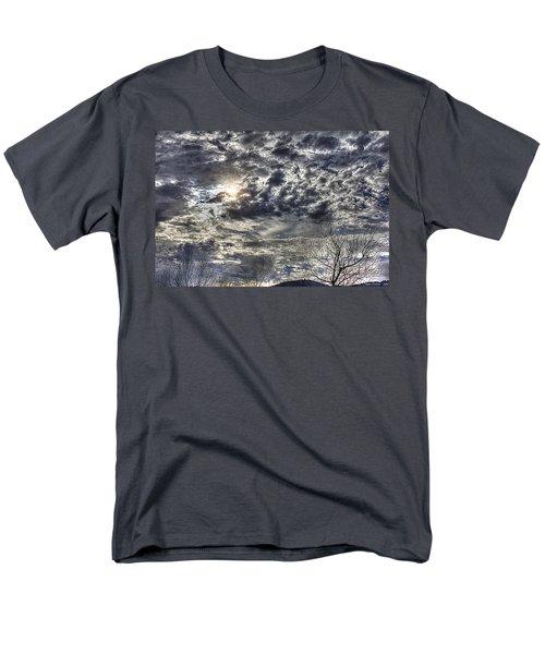 Winter Sky Men's T-Shirt  (Regular Fit) by Tom Culver