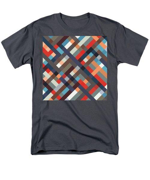 Geometric Men's T-Shirt  (Regular Fit) by Mike Taylor