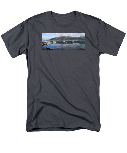 Men's T-Shirt  (Regular Fit) featuring the photograph Along Loch Leven 3 by Wendy Wilton