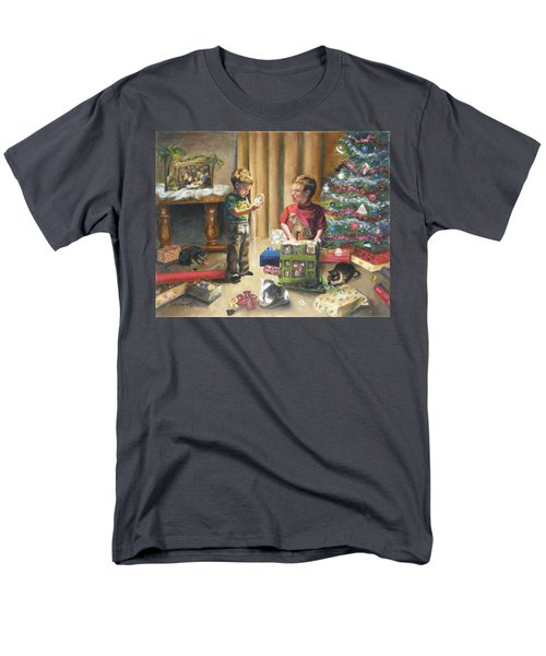 Men's T-Shirt  (Regular Fit) featuring the painting Christmas Time by Lori Brackett