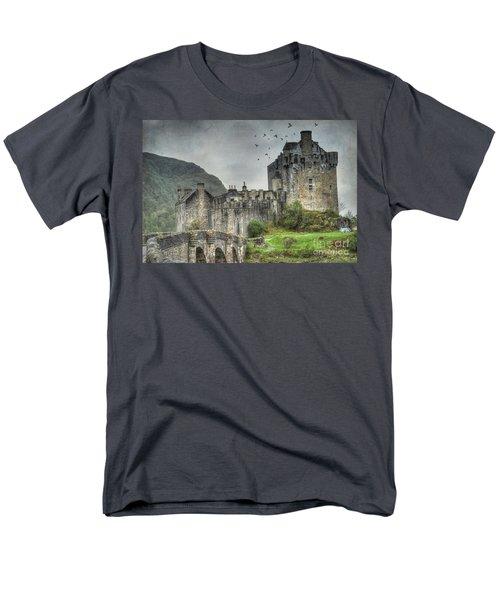 Eilean Donan Castle Men's T-Shirt  (Regular Fit) by Juli Scalzi