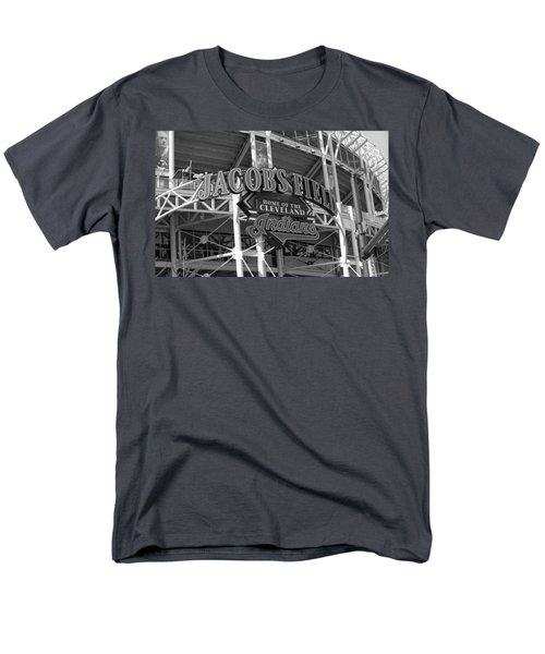 Jacobs Field - Cleveland Indians Men's T-Shirt  (Regular Fit) by Frank Romeo