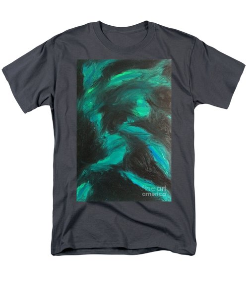 Men's T-Shirt  (Regular Fit) featuring the painting Northern Light by Jacqueline McReynolds