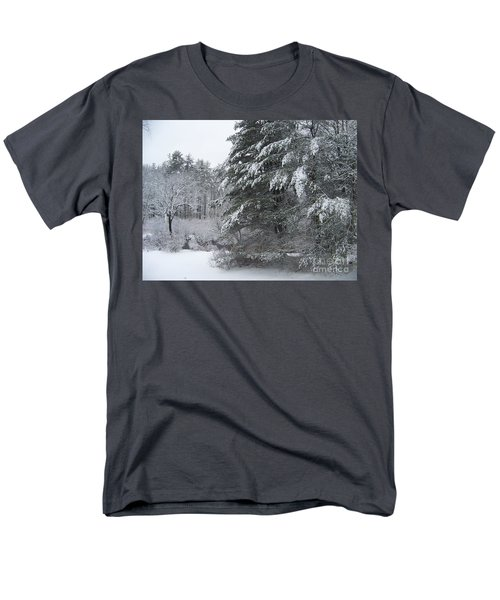 Men's T-Shirt  (Regular Fit) featuring the photograph Powdered Sugar by Eunice Miller
