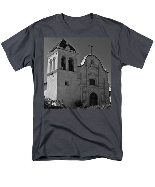 Men's T-Shirt  (Regular Fit) featuring the photograph San Carlos Cathedral by Ron White