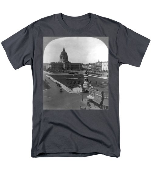 Men's T-Shirt  (Regular Fit) featuring the photograph San Francisco City Hall by Granger