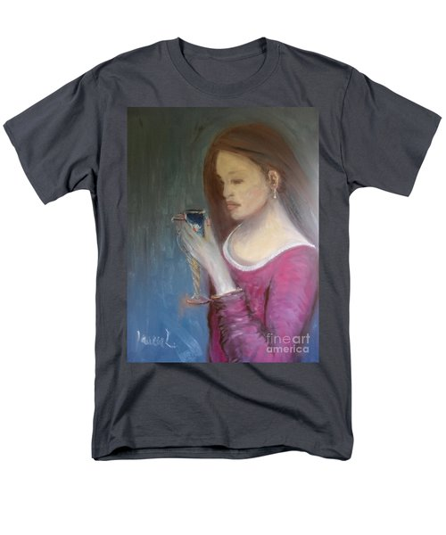 Men's T-Shirt  (Regular Fit) featuring the painting The Chalice by Laurie L